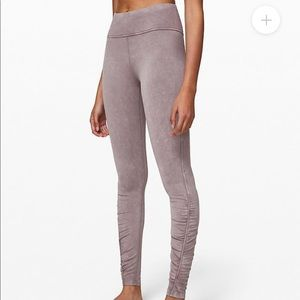 "Lululemon Athletica Inner Glow Tight, 28"" size 6"
